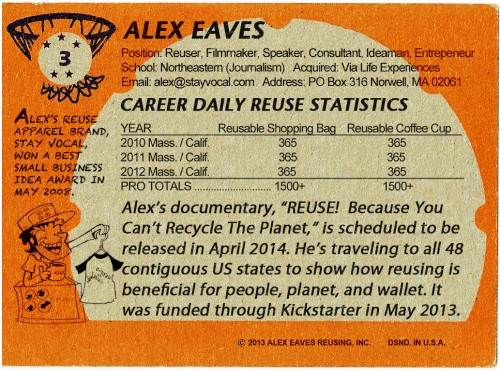 Alex Eaves' Reuse Pro Card