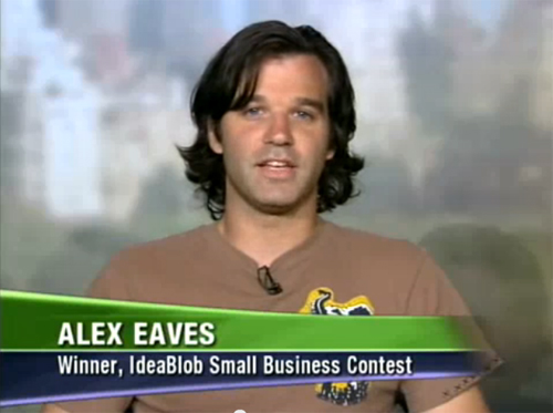 Alex Eaves on ABC May 2008 Ideablob Winner For Reuse Brand