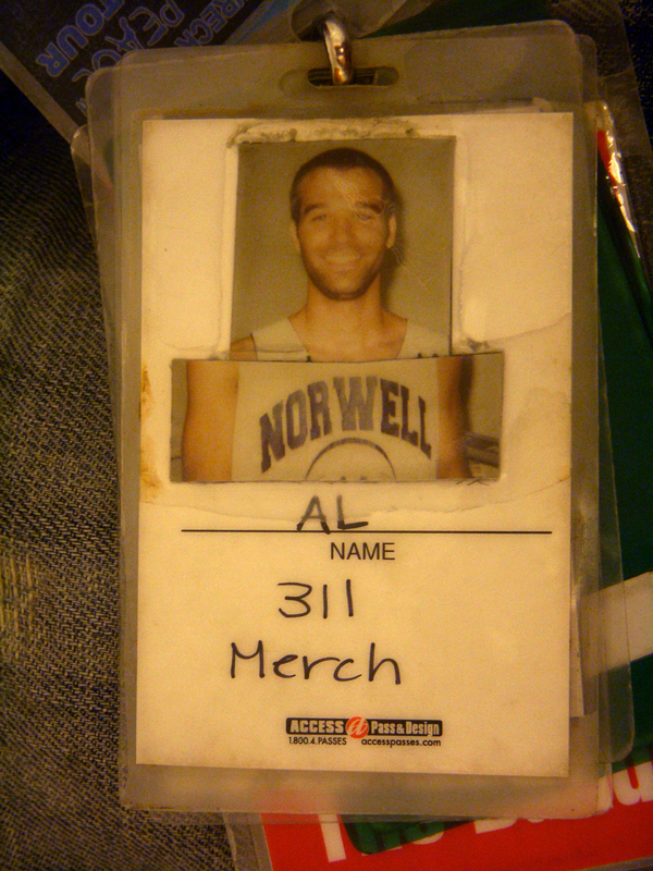 My Pass From The 2002 Sprite Liquid Mix Tour