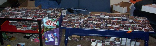 Basketball Card Purging In Pittsburgh - 2005
