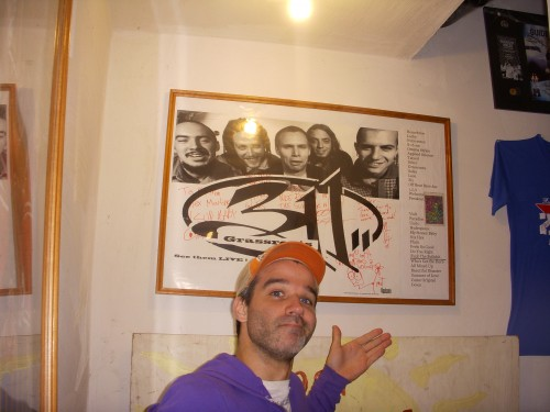 Alex Eaves with his favorite 311 possession.
