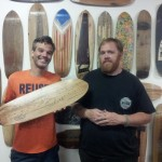 Reclaimed Skateboards At District Millworks