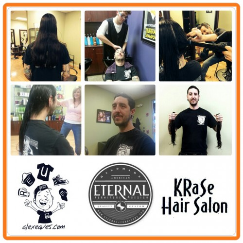 Brian McAlpine Of Eternal Furniture At Krase Hair Salon